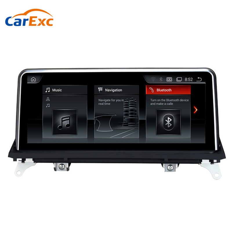 Android 4.4 <font><b>10.25</b></font> Inch Auto Radio GPS Bluetooth Wifi With CCC/CIC System Navigation Multimedia Car DVD For <font><b>BMW</b></font> X5 <font><b>E70</b></font> X6 E71 image