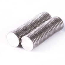 100Pcs 6mm X 1mm Wholesale Strong Cylinder Rare Earth Magnet Neodymium Bulk Sheet N50 Mini Small Round Magnets Disc