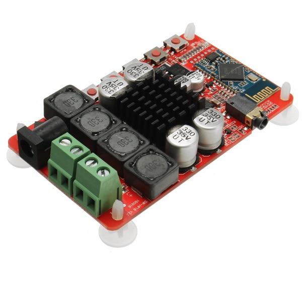 50 W + 50 W TDA7492 CSR8635 Sans Fil Bluetooth 4.0 Récepteur Audio Numérique Amplificateur Conseil NE5532 Préampli 2X50 W Amplificateurs