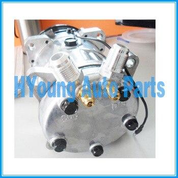 508 5h14 8PK 125 MILLIMETRI 12 V (24 v) o-RING di montaggio Universale per auto aria Condizionata Compressore rifornimento della fabbrica della Cina