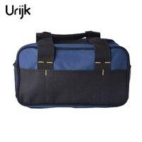 Urijk Tool Kit Pack Hardware Repair Kit Tool Bag Electrician Work Multifunction Durable Mechanics Canvas Pouch