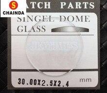 49cd2db9aad Frete Grátis 1pc2. 5mm de Espessura TK Convexo Relógio de Cristal Vidro de  Tamanho mm para 42 25mm para o Reparo do Relógio