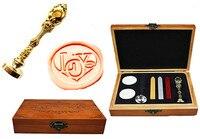 Vintage Love Heart Custom Luxury Wax Seal Sealing Stamp Brass Peacock Metal Handle Sticks Melting Spoon