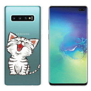 Case For Samsung Galaxy S10 Plus Case Soft Silicone Phone Back Protector Cover Fundas For Samsung S10 Plus S10+ Case Coque Capas