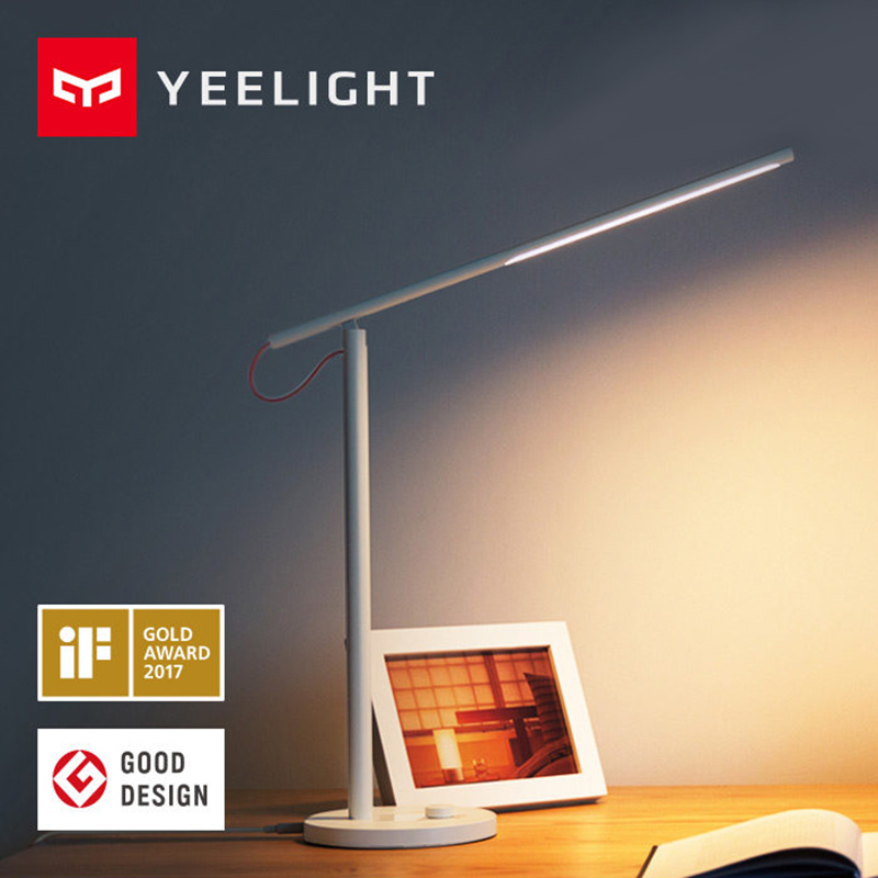 Yeelight Desk Lamp LED Smart Illumination No Stroboscopic Eyecare Reading Light Support App Remote Dimmable  Control  XiaoMi