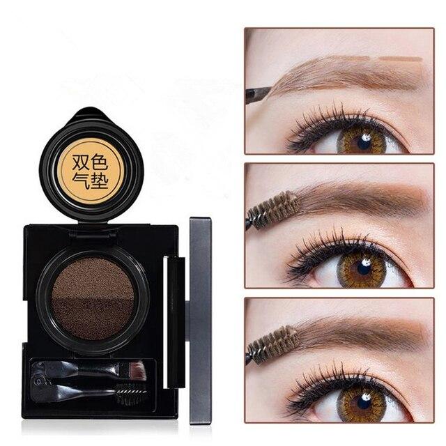 Natural Perfect Air Cushion Eyebrow Dye Cream Eyebrow Powder