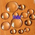 Free Shipping Wholesale 200Pcs/Lot 8MM Clear Glass Cover Round Cabochons Tone Cameo Jewelry Findings