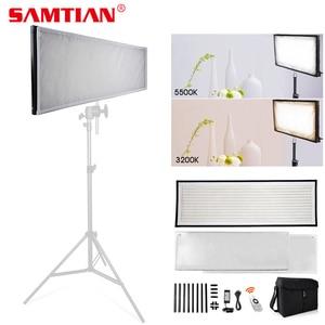 Image 1 - SAMTIAN FL 3090A Flexible LED Video Light Photo Studio Photography Light Dimmable 3200K 5500K For Photography Photo Shoot