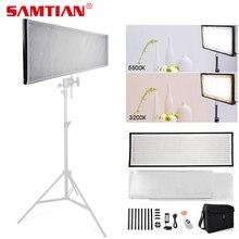 SAMTIAN FL 3090A гибкий светодиодный видео светильник задники для студийной фотосъемки с светильник с регулируемой яркостью, 3200K 5500K для фотографии фотосессии