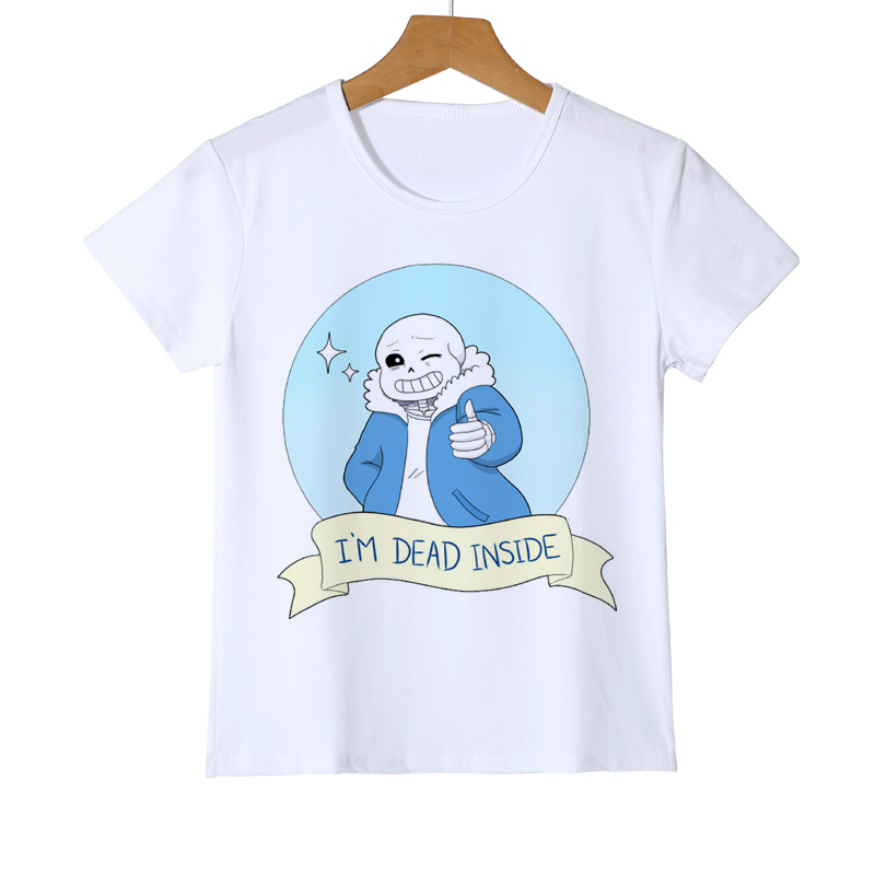 Kid s New Coming Personality T shirt Undertale Aftertale Sans T Shirt Cool  Boy Girl Baby T Shirt Teen Summer Top Tee Shirt Z40 3-in T-Shirts from  Mother ... d46db324e32f