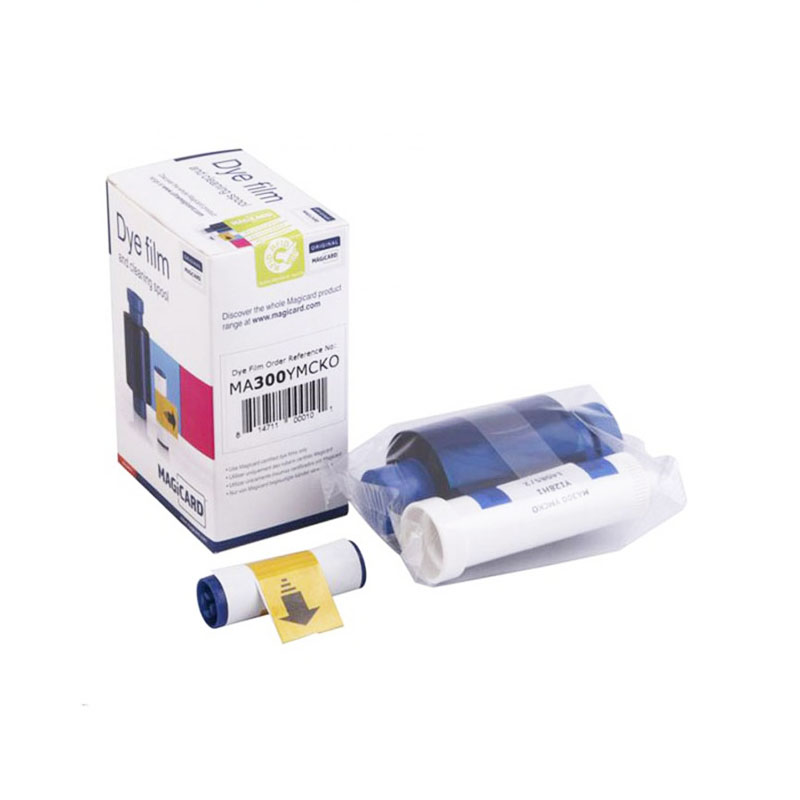 Original Printer Ribbon MA300 Ribbon Color Band For Magicard MA300 Card Printer idp smart 650664 siadc p r red ribbon use for smart id card printer ribbon