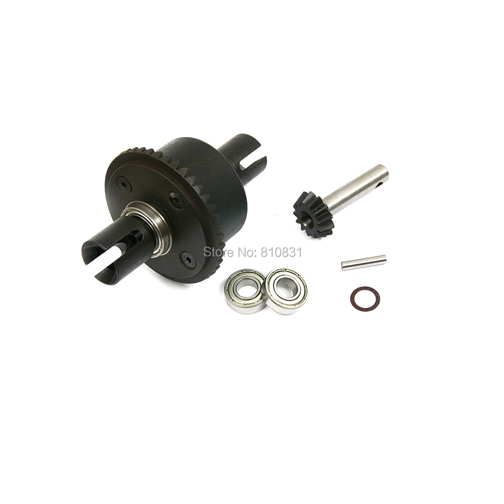 1/5 rc car Metal front complete diff gear set/Metal front differential assembly set fit losi 5ive hpi rovan LT DDT toy parts front diff gear differential gear for wltoys 12428 12423 1 12 rc car spare parts