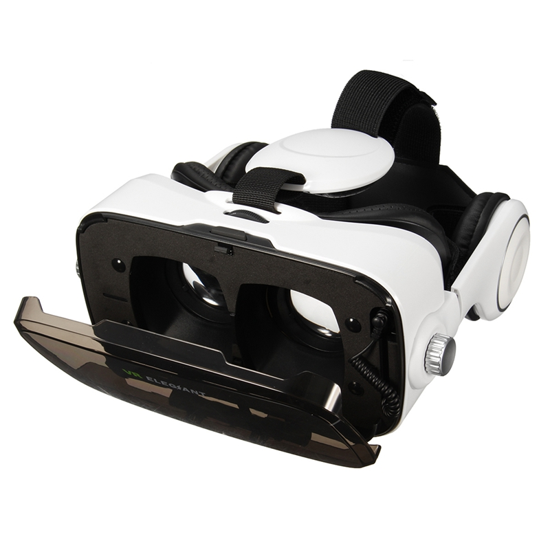 ELEGIANT 3D font b VR b font Virtual Reality Glasses Headset Head Mount Movies For 4