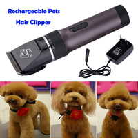 Rechargeable Power Electric Pet Cat Rabbit Horse Animal Hair Cutting Clipper Shaver Dog Razor Grooming Trimmer Cutting Machine
