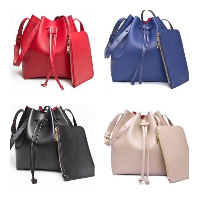 af707da2869d Free Shipping 6 Colors Mansur Gavriel Bucket Bag Women Mansur Genuine  Leather Hand Bag 100% Cowhide Gavriel Shoulder Bag Big