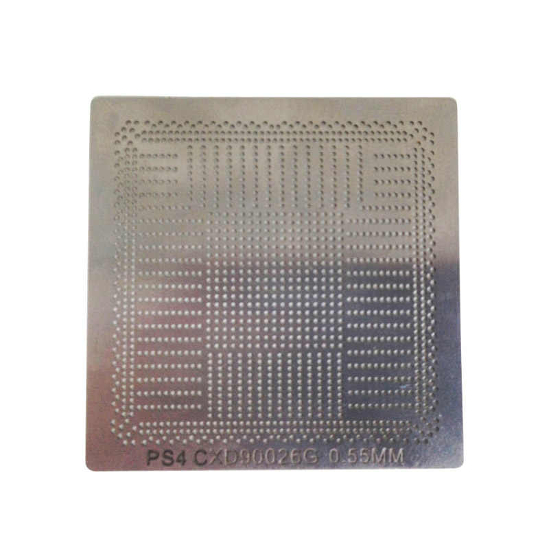BGA Reballing ステンシル直接加熱はんだボール鋼テンプレート CXD90025G CXD90026G GDDR5-RAM DDR3-SDRAM ため PS4 BGA IC Reball