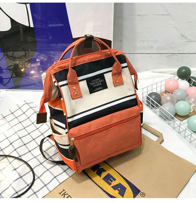 HTB14OT9UhTpK1RjSZFMq6zG VXaK 2019 Korean Style Women Backpack Canvas Travel Bag Mini Shoulder Bag For Teenage Girl School Bag Bagpack Rucksack Knapsack