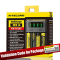 100% Original Nitecore New I4 New I2 Digicharger Battery Charger Nitecore Charger  for 26650 18650 18350 16340 14500 10440