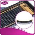 Venda quente de Alta Qualidade Popular Vison Cílios Postiços 0.07/0.10/0.15mm Prime Maquiagem Cílios Cílios 8-12mm Falso Pestana Extensões