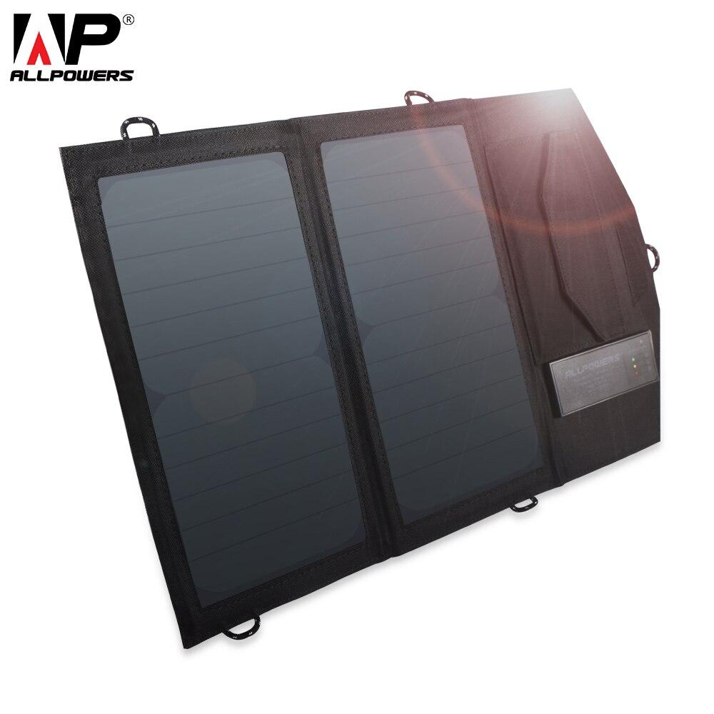 Nouveauté panneau solaire 14 W avec batterie au Lithium chargeur de panneau solaire pour iPhone 4 s 5 5 s SE iPhone 6 6 s 7 8 iPhone X Samsung etc.