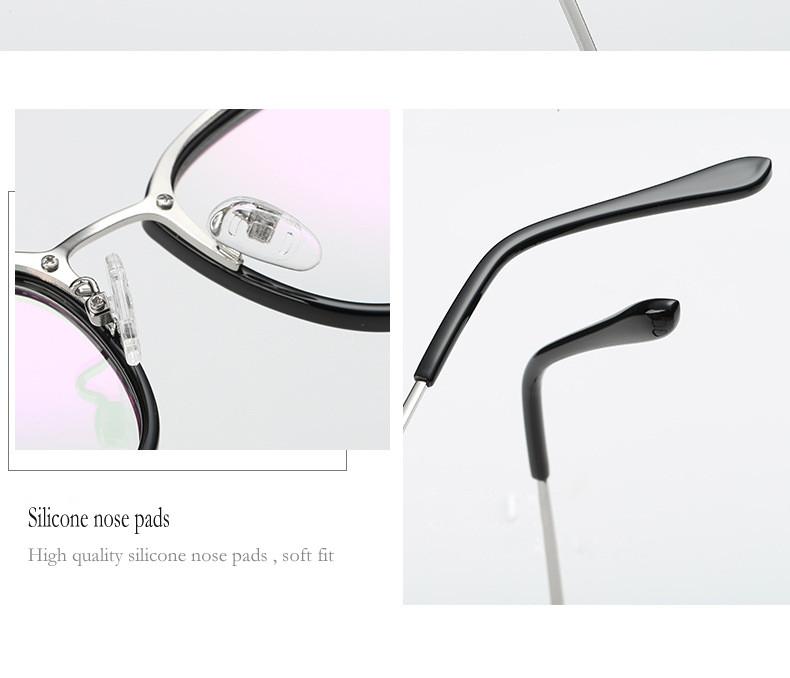 077b8d7725e1 Fashion women Eye Glasses Unisex Optical Clear Glasses Frame Myopia ...