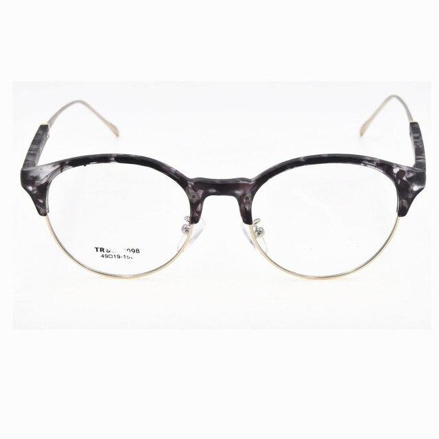 Новый Урожай TR90 женские Очки 2016 Качество Мода Стиль Круглый Ретро Оптические Frame Малый Размер Очки Для Женщин óculos