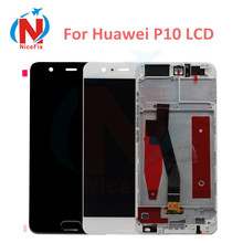 Huawei 社 P10 VTR L09 VTR L10 VTR L29 液晶ディスプレイタッチスクリーンデジタイザ Huawei 社 P10 のフレームアセンブリの交換液晶