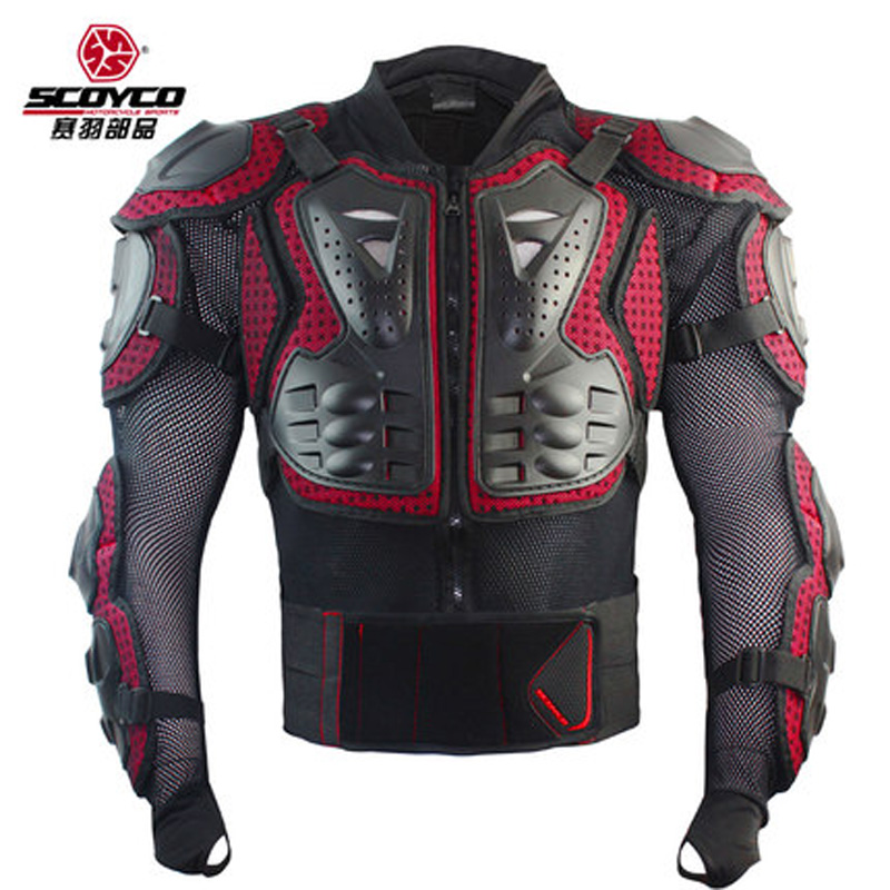 Scoyco AM02 motocross armure moto hors route armure course pleine protection engrenages moto cross country armure corps - 2