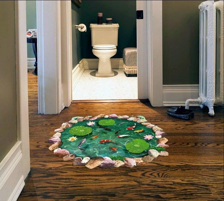 Pulsuz çatdırılma yeni cizgi filmi goldfish lotus yataq otağı - Ev dekoru - Fotoqrafiya 2