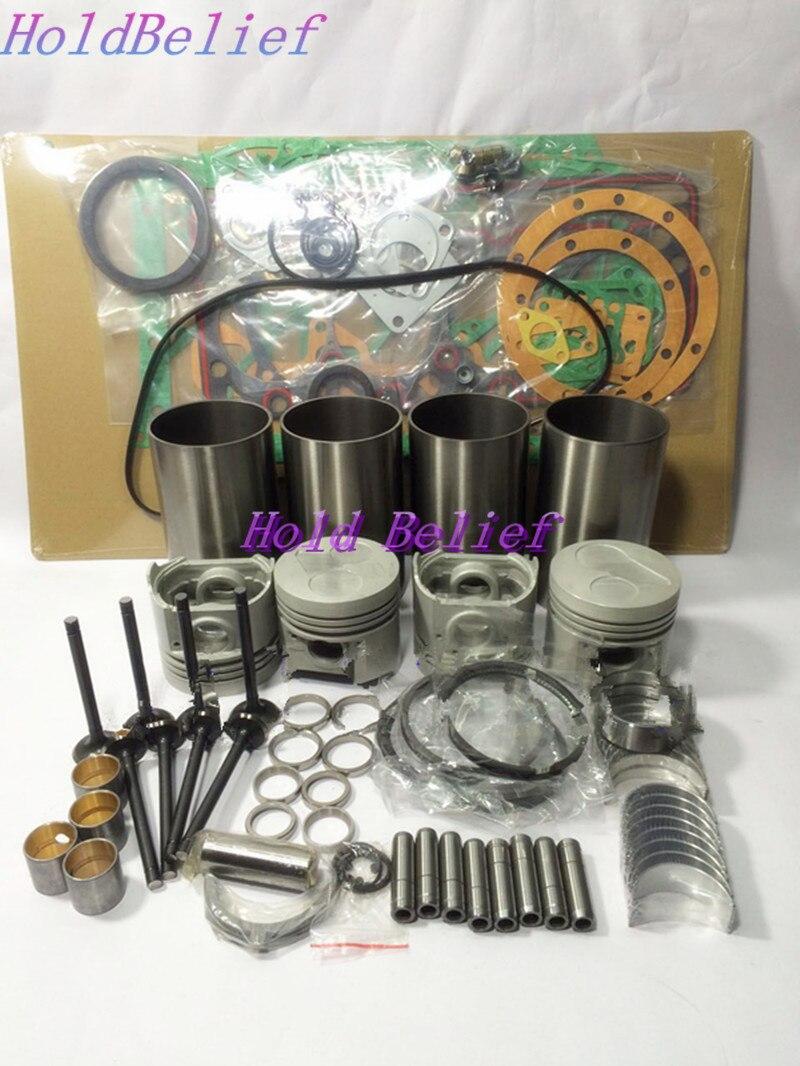 Tamanho STD Rebuild Kit Overhaul Para Injetor Direto Do Motor Kubota V2203 Para Bobcat