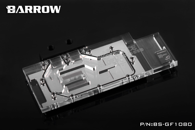 Barrow LRC RGB v1 Full Cover Graphics Card Water Cooling Block BS-GF1080 for NVIDIA Founder ver.GTX1080TI/1070/1080/P.TITAN X computador cooling fan replacement for msi twin frozr ii r7770 hd 7770 n460 n560 gtx graphics video card fans pld08010s12hh