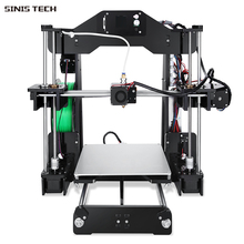 Sinis Z1 3D Printer Laser Engraver DIY Kit I3 High Precision FDM Rapid Self-assembled Desktop 3D Printer Large Size220*220*240mm цена