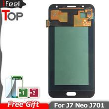 5,5 para SAMSUNG Galaxy J7 Neo J701F J701M J701MT j701 pantalla LCD + recambio de conjunto de pantalla táctil