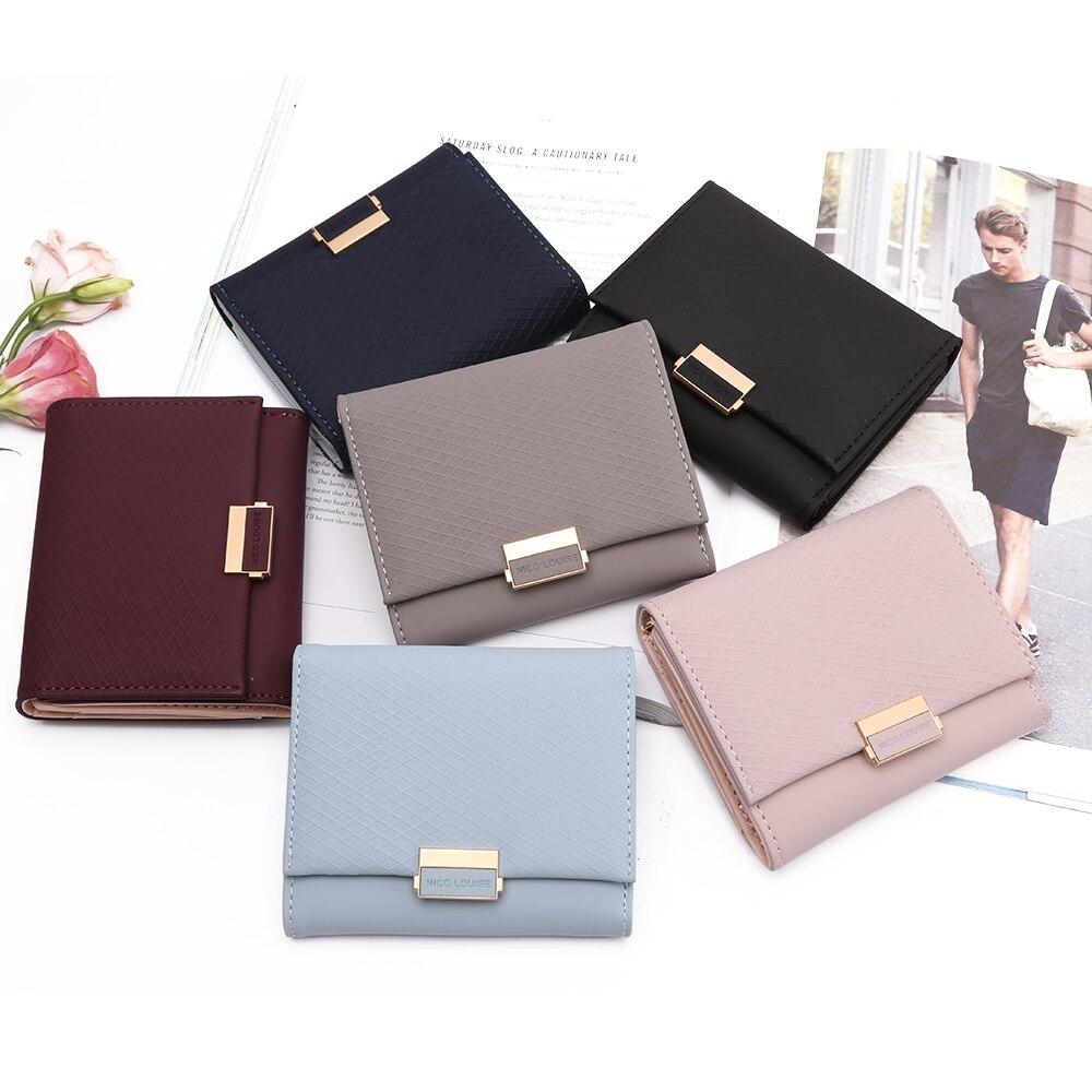 NICO LOUISE Naiste rahakott, 6 värvivalikut 4