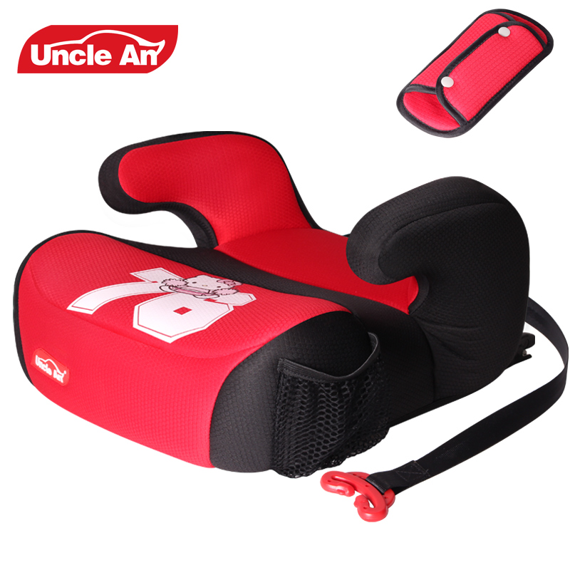 Uncle Ann Childrens Safety Seat, Baby Car With Child Pad, 3-12 Year Old Isofix Hard Interface