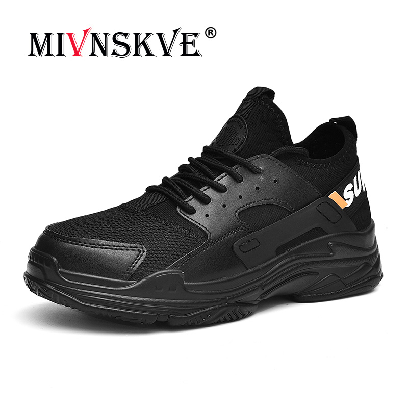 MIVNSKVE Spring Running shoe Men sneakers New high quality tennis sport Flying air cushion running shoes outdoor sneakers Men