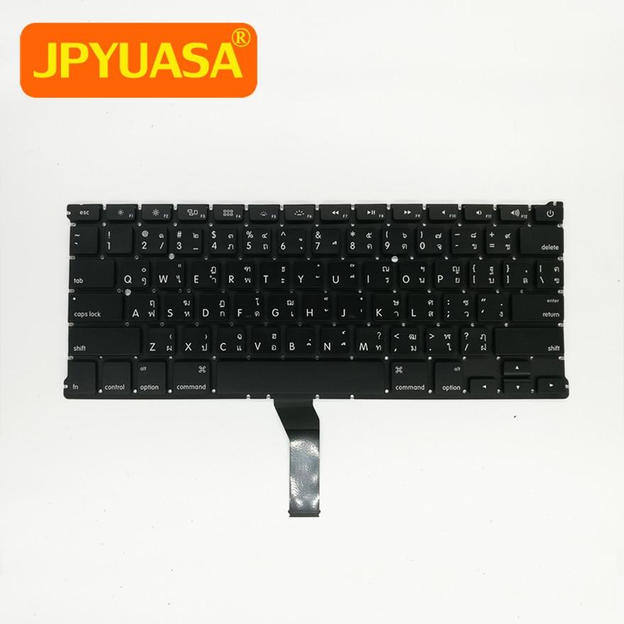 5pcs lot New Thai Thailand keyboard For Macbook Air 13 A1369 A1466 Laptop Keyboard 2011 2015