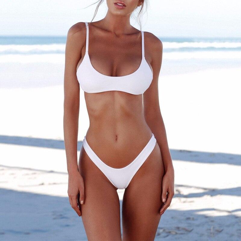 Women Bikini Two Pieces Set Swimsuit Summer Beach Wear Sexy Bikinis Bathing Suit Swimwear YS-BUY 1