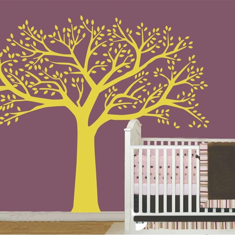 Fotografitë e mëdha familjare Pemë ngjitëse në mur vinyl Degët - Dekor në shtëpi - Foto 5