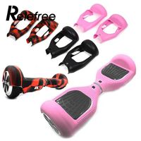 Relefree New 6 5 Inch Hoverboard 2 Wheel Skateboard Silicone Case Shell Smart Self Balancing Electric