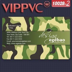 A10028 2 Modle De Carte Visite Pvc Blanc En Plastique 855X54X038mm Seule Face Impression