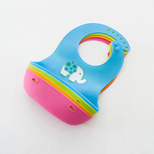 Adjustable Waterproof Silicon Baby Bib