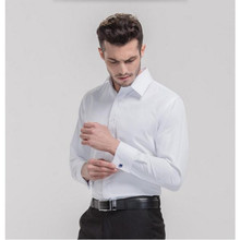 Men's Luxury Solid Color Dress Shirts Peaked Collar Long Sleeve Slim Fit Casual Shirt Man high quality custom men formal shirt
