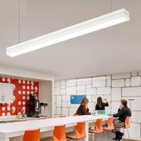 SVITZ длинные люстра проект кулон линии лампы супермаркет Конференц зал библиотека исследование светодио дный освещение офиса висит лампы