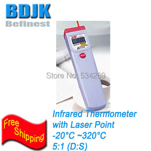 Portable Infrared Thermometer 20 230 Temperature Meters Pocket Thermometer with Laser Point