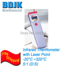 Portable Infrared Thermometer -20~230 Temperature Meters Pocket Thermometer with Laser Point
