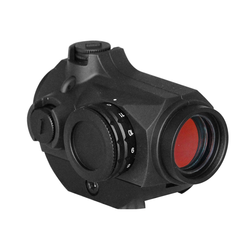 Laserspeed Optics Red Dot Weapon Sight, 20mm With 3 MOA Dot, Picatinny Mil-Std-1913 Rail Mount Tactical Compact Red Dot Sight