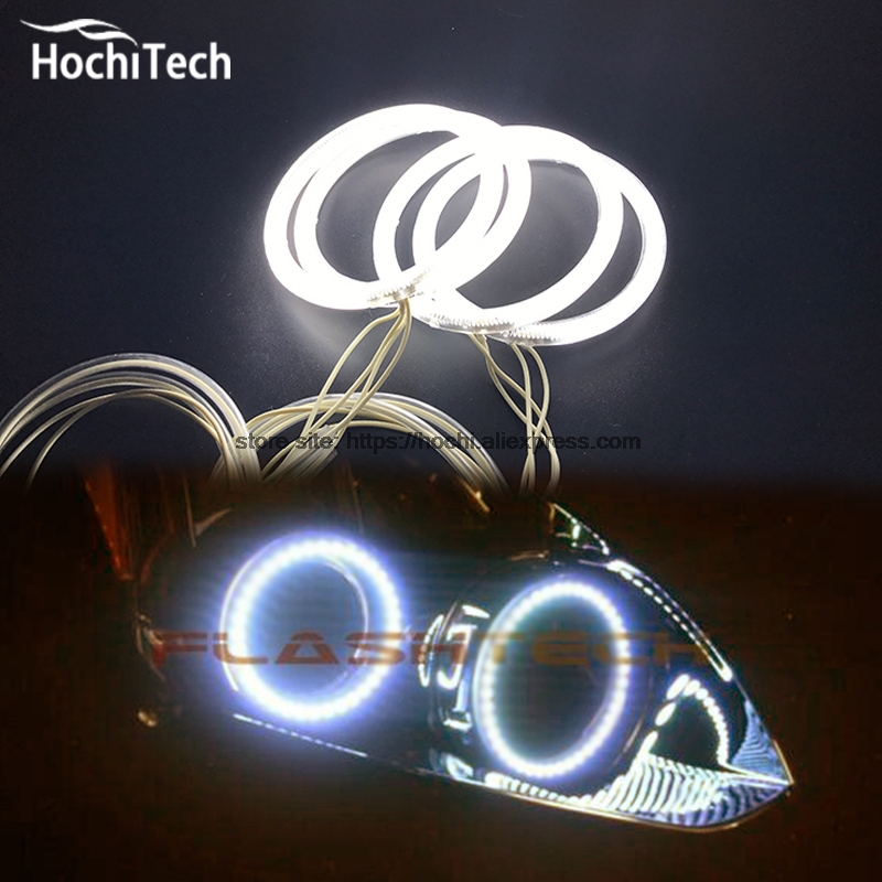 HochiTech ccfl angel eyes kit white 6000k ccfl halo rings headlight for Nissan Altima Coupe 2010 2011 2012 2013 for uaz patriot ccfl angel eyes rings kit non projector halo rings car eyes free shipping