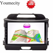Youmecity 32G ROM 9 Inch!Sportage r/Sportage 3 2 din Android 7.1 Car DVD player Gps wifi for KIA  2010 2014 2011 2012 2013 2015