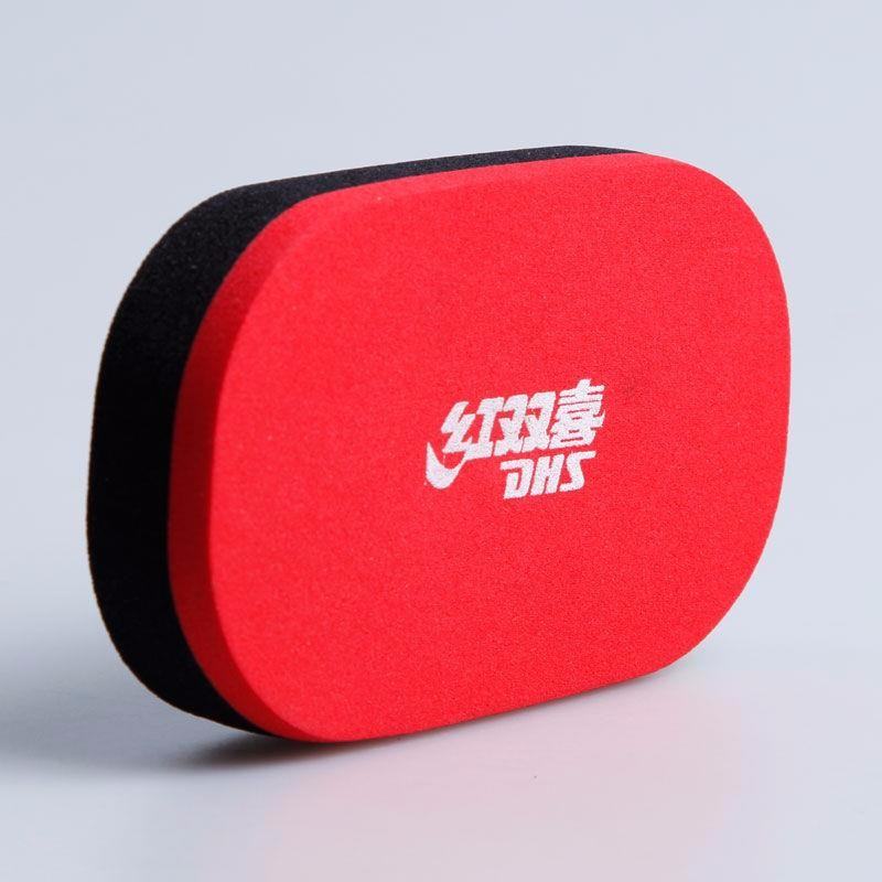 2 Pcs/lot DHS Original Table Tennis Rubber Cleaning Sponge Professional Ping Pong Accessories